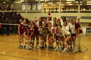 Girls Volleyball clinches CIF title