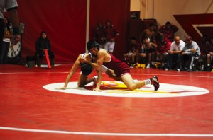 Wrestling triumphs in the Downey tournament