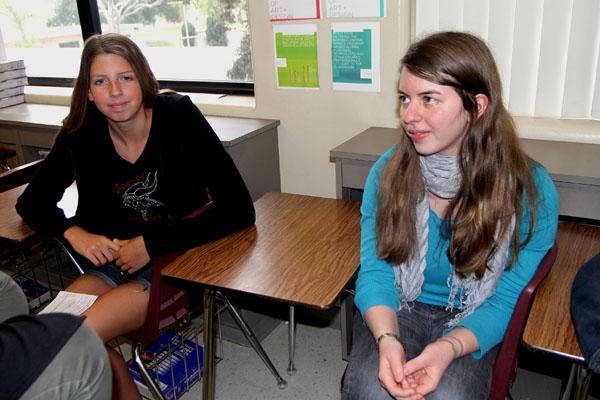 Student's family participates in German exchange program