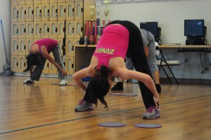 Zumba class dances their way to fitness