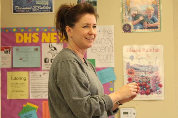 Mrs. Bean is crowned Teacher of the Year