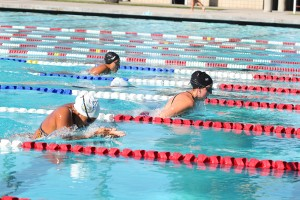 Swim leaves La Mirada behind
