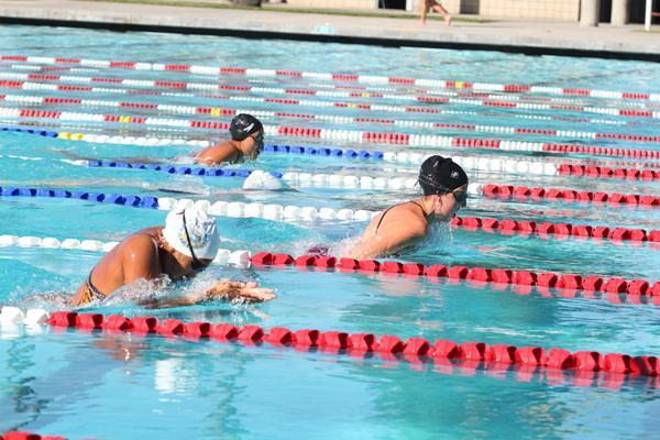 Swim leaves La Mirada behind