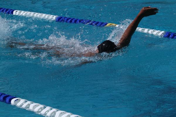 Swims road to finals