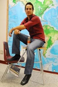 Wierzchucki awarded April Teacher of the Month