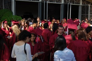 Baccalaureate celebrates before the big day
