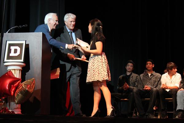 Students win big on Senior Awards Night