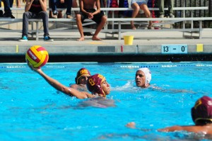 Varsity water polo defeats Marina 13-9