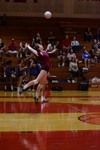 Girls volleyball dominate La Habra Highlanders