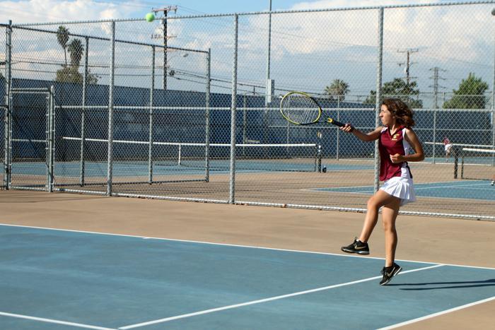 Girls tennis serves up a season