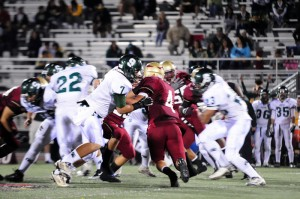 Varsity football fights back against Schurr