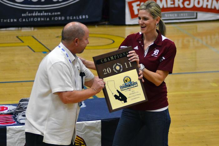 Girls volleyball defends CIF championship title