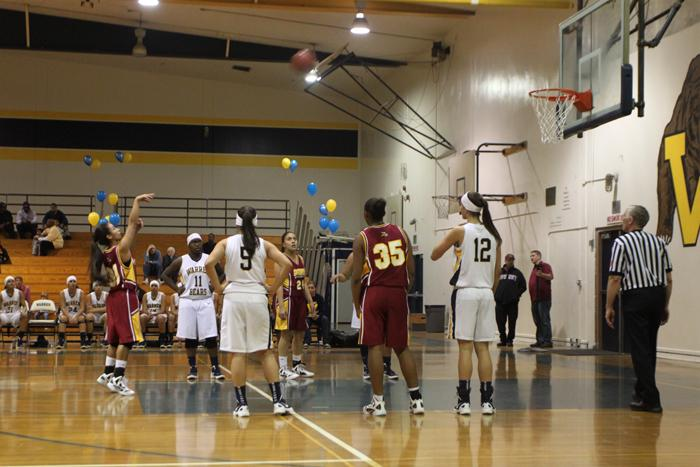 Girls varsity basketball fumble their way into a loss