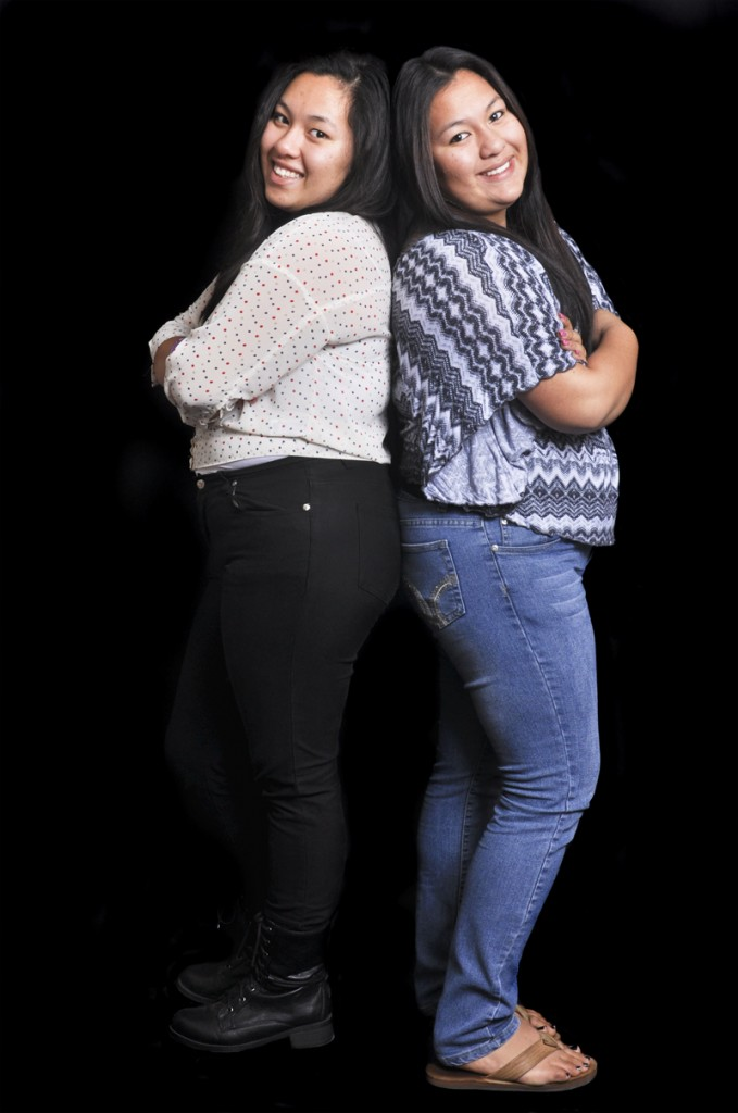 Five+Questions+with+the+yearbook+twins%2C+Gabriela+and+Cristina+Martinez
