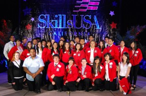 Students building skills for success