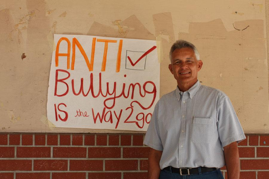 "To stress the importance against bullying at Downey High, ASB posts posters around campus to encourage students to act kind towards one another, during the week of Sept. 14 to Sept. 21. ""Our ASB students believe that kids shouldn't be bullied,"" Activities Director Mr. Weisenberger said."