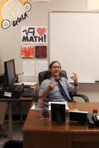 Math teacher and musician