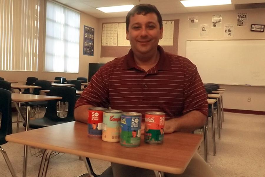 "The canned food drive stirs students to bring in their cans, from October 29 to November 9, due to teachers willing to give extra credit, but Mr. Glasser, though not victorious in the drive, believes students should be taught selflessness. ""Give for charity, not for extra credit,"" Glasser said. ""In the end you will feel more likely to give and care for others in need while feeling good about yourself throughout your accomplished deed."""