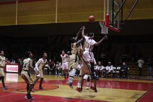 Boys basketball start the league with a loss