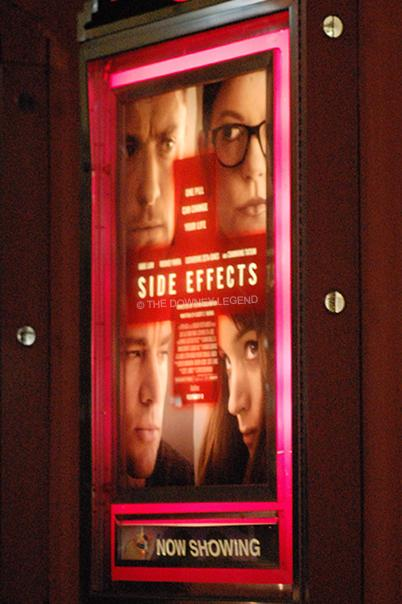 On Friday, Feb. 8, Steven Soderbergh's Side Effects premieres in theaters everywhere and earns $10 million and number three in the box office opening weekend. The psychological thriller, starring Jude Law, Rooney Mara, Catherine Zeta-Jones, and Channing Tatum, follows Emily Taylor's life of being prescribed with antidepressants.