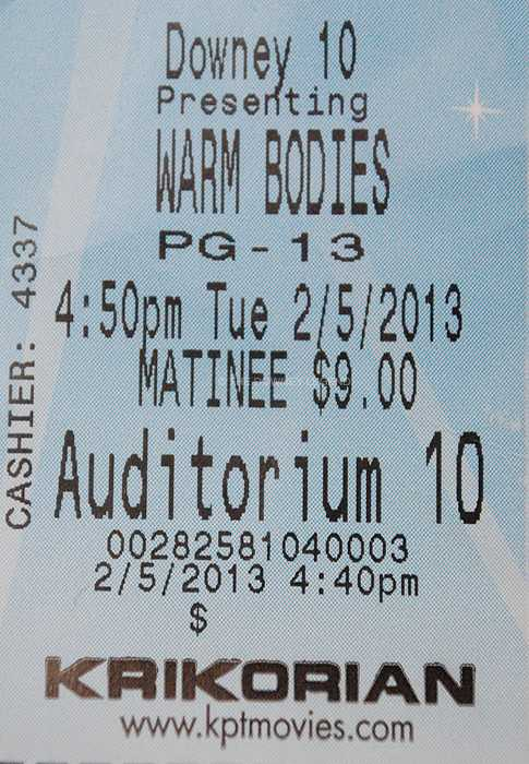 Jonathan Levine's romantic zombie comedy Warm Bodies premieres on Feb. 1 in national theaters. The film, renowned for being told from a zombie's perspective, is based on Isaac Marion's novel of the same name.