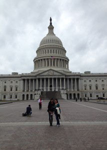"On Jan. 30, Karina Gonzalez, 10, visits Washington D.C. as a chosen youth commissioner foe the Keep America Beautiful conference. ""I can't wait to share what I learned from the conferences with the Green Team."" Gonzalez said."