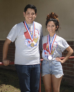 From April 4 to April 7, seniors Jesus Laurean and Zulema Zarate participated in the photography section of the Skills USA state competition in San Diego. Laurean won gold, which is the second year in a row that Downey High won gold in the photography section.
