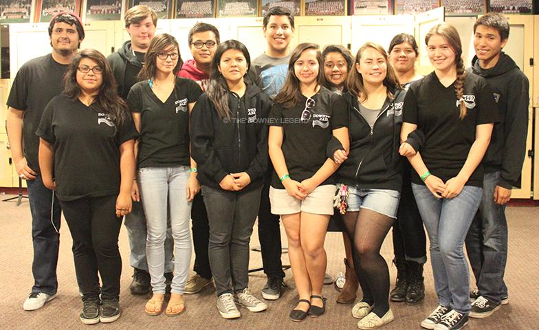 "On April 17-21, Downey Jazz Choir took a trip to New York for an opportunity to learn from professional instructors. ""Everyone there taught us something,"" Jose Padilla, 12, said. ""We learned different techniques on how to sing, swing, and work with other groups."""