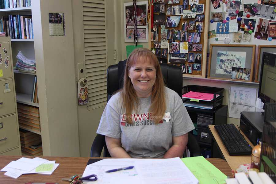 Five Question with AP coordinator Tina Carlson