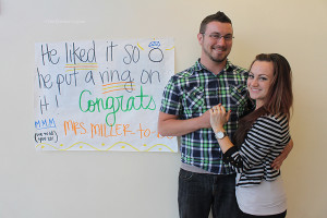 After fiancé Kevin Miller proposed to math teacher Ms. Michelle Gunderson on May 10, at the Dodger Stadium, the couple plans to have their wedding next summer. The proposal was recorded on the Kiss Cam for the entire stadium to watch.