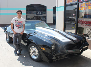 "Throughout his junior year, Anthony Bravo constructs his own car at his family's car shop to accomplish his goal. ""I am grateful to have the opportunity to build my own car,"" Bravo said. ""You learn to appreciate the car much more than when you buy it."""