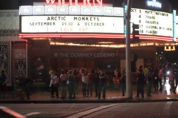 """On Sunday, Sep. 29, students from Downey High School live up a late night out in Los Angeles to see the Arctic Monkeys perform. """"I almost forgot we had school the next day,"""" senior Stephanie Chavez said."""