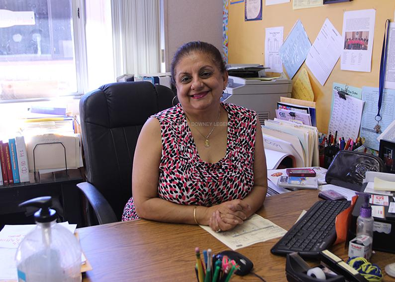 After leaving London in 1981, Mrs. Vadgama came to Downey and now teaches all six periods of the Career Technical Education classes: Principles of Education. She has been teaching for thirteen years and is also in charge of Skills USA.