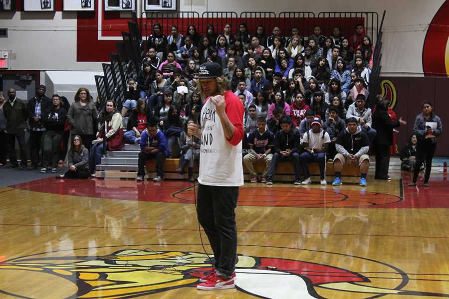 "On Wed., Dec. 11, freshmen, sophomores, club leaders, and athletes are invited to the gym to hear Mike Smith's personal experience and stance on anti-bullying. ""I think what he did was really amazing,"" sophomore, Heather Rodriguez said. ""I'm going to start being friendly to people who don't seem to have anyone to hang out with."""
