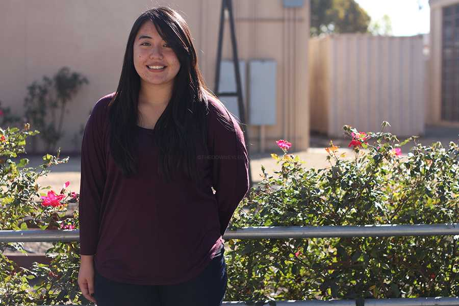 During her senior year, Valerie Iwamoto applies for local scholarships in hopes of getting extra money to pay for college finances. Seniors have to submit applications, resumes, and an essay for the local scholarships by Fri., Jan. 17.