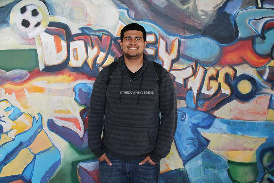 """Senior Arturo Gomez gets signed to Fresno State University to play football on Wed., Feb. 19.  """"It feels unreal,"""" Gomez said. """"It's something you set your mind to but, at the same time, it always felt so far away; when my time finally came I just enjoyed the moment."""""""