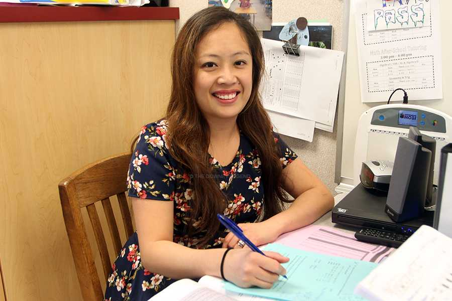 Beginning this semester in the Math and English departments, the Downey Unified School District will require teachers to change their curriculum. Mrs. Orca has changed her curriculum after six years of teaching to fit the curriculum requirements.