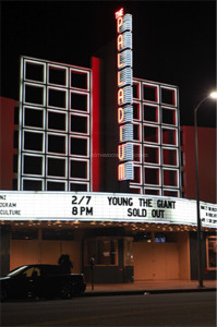 The Hollywood Palladium hosts indie rock band, Young the Giant on Friday, Feb. 7.  A total of ten Downey High School students attended the show.