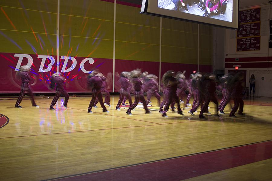 On Fri., Mar. 21, at the Downey High School gym, the annual Downey Best Dance Crew competition takes place to fundraise money for the dance team. Downey's dance team started off the competition by performing Friday Night Lights.