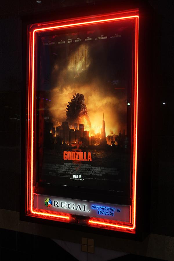 On Fri., May 16, the remake of the movie Godzilla premieres in theaters. The film stars Aaron Taylor-Johnson and Breaking Bad's Bryan Cranston.