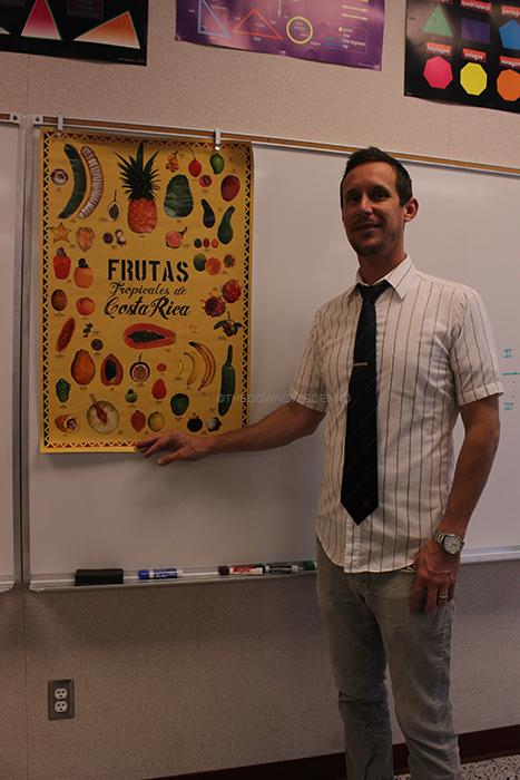 """Downey High School Geometry and Algebra 2 teacher, Mr. Bradfield returns with a broad experience of living in Costa Rica, during the year of 2013. """"It was really tight; we knew we had to budget, but we still did whatever we wanted,"""" Bradfield said. """"We [his family] camped on the beach for a week, spent time in the Nicoya Peninsula, explored some of the volcanoes - all that stuff; it was pretty great."""""""