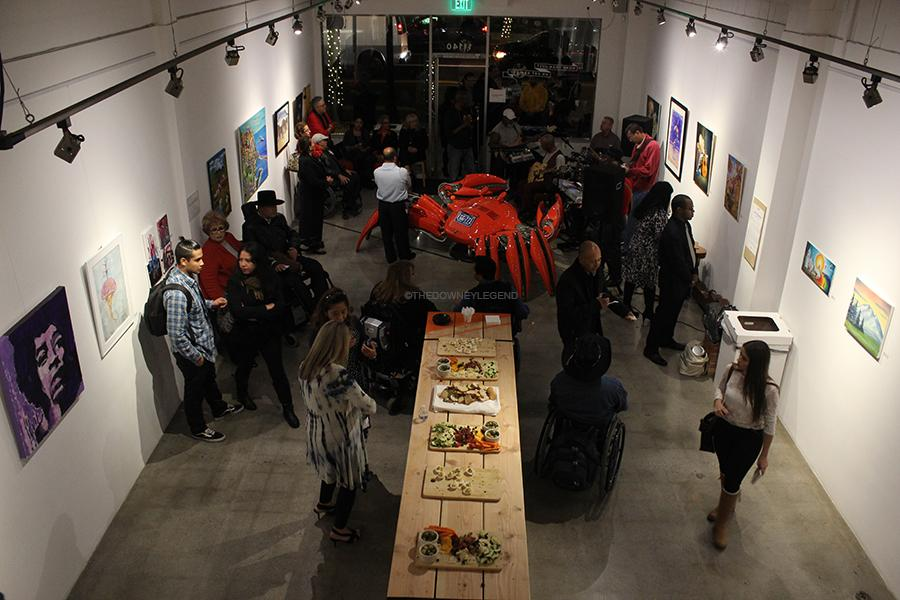 Stay Gallery partners with Rancho Los Amigos on Dec. 5, and receives a national grant of $5,000 from Financial Partners for the hard work they put into what they do. The event was hosted to bring out the best art pieces of patients at Rancho Los Amigos.