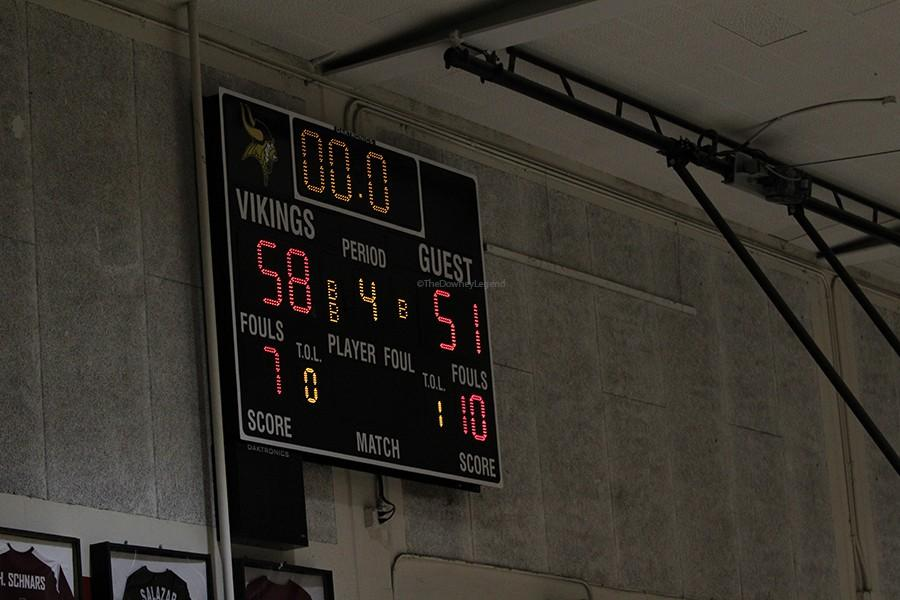 """On Jan. 16, Viking pride was shown from the crowd after winning with a score of 58-51, the boys showed Warren they could not be beaten. """"The game was great; I'd never seen a crowd get so hyped before,"""" Sonia Cisneros, 12, stated."""
