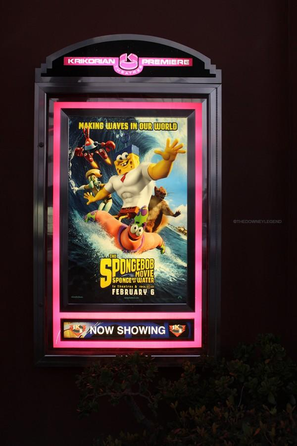 At the Downey Krikorian Theater, The Spongebob Movie: Sponge Out of Water is showing on Feb. 6 for kids of all ages. Actors and actresses featured in this film include Tom Kenney (Spongebob & Gary), Bill Fagerbakke (Patrick), Rodger Bumpass (Squidward), Clancy Brown (Mr. Krabs), and Carolyn Lawernce (Sandy).