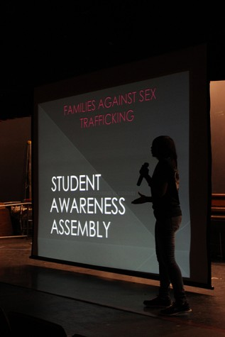 On Apr. 23, Downey students receive the opportunity to attend the Families Against Sex Trafficking presentation. One of the sex trafficking victims made an appearance and gave a speech about what she had gone through.
