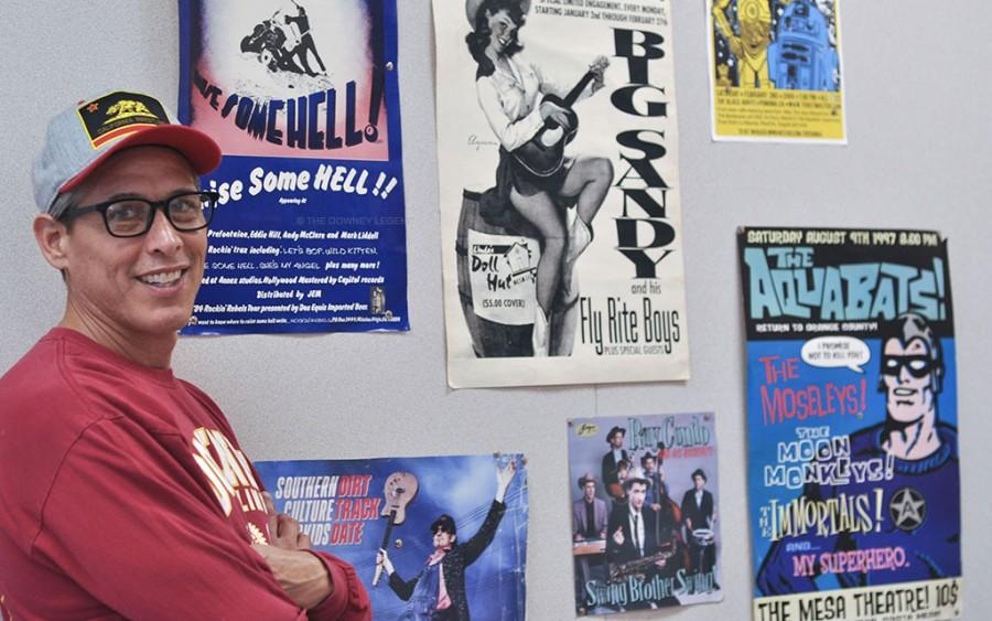 With a strong passion in writing and a love for music, Downey High School teacher, Mr. Rios was an active member of The Mosleys till his late 20's.