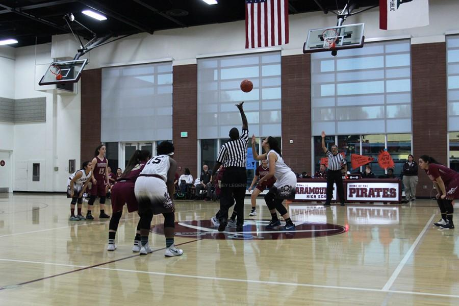 "From the start, the ladies in the varsity basketball team were confident for the win against Paramount on Feb. 11. ""To be honest, no [Paramount was not a strong opponent],"" Victoria Lopez, 11, said, ""but I respect that they never give up."""