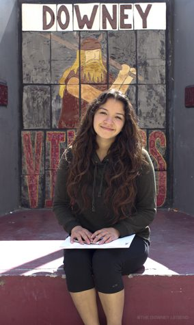 Having recently transferred to Downey from a private high school, Glendale Adventist Academy, Jocelyne Rojas, 10, talks about her future and her vast change of environment.
