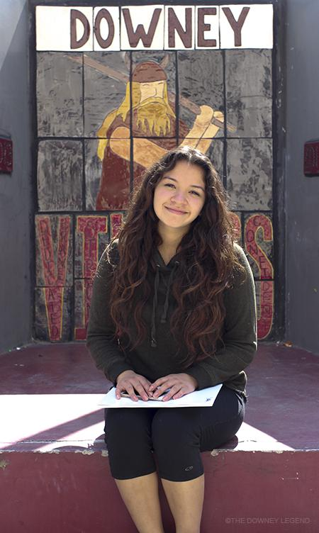 Having+recently+transferred+to+Downey+from+a+private+high+school%2C+Glendale+Adventist+Academy%2C+Jocelyne+Rojas%2C+10%2C+talks+about+her+future+and+her+vast+change+of+environment.