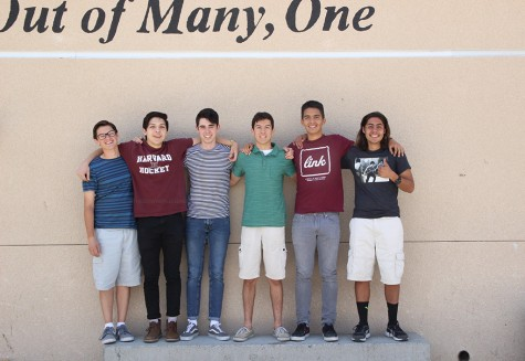 "Downey High School's Quiz Bowl team is more than a club, according to senior, Carlos Agredano, rather, it is about the familial relationships he's made with his fellow Quiz Bowlers. ""For me, it's the jokes we make and the ability to understand each other with intellectual jokes that you're not usually able to tell regular people,"" Agredano said. ""The whole concept is a team and brotherhood, because we're all guys- well the majority."""